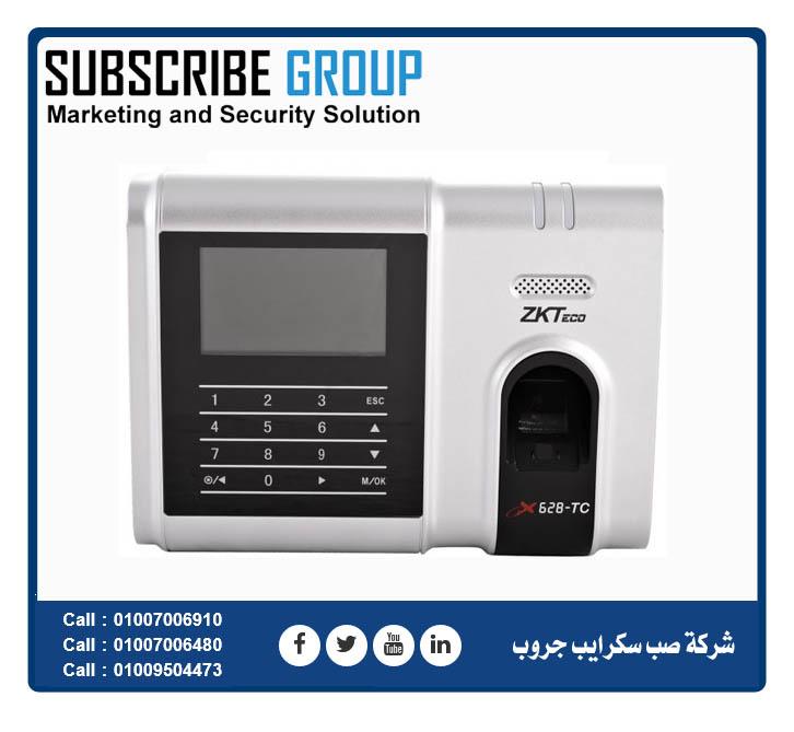 جهاز بصمة X628TC | Subscribe Egypt